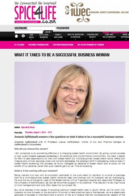 What it takes to be a successful business woman